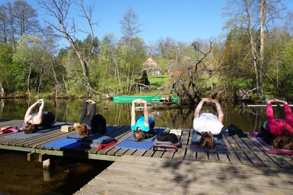 Wakacje z jogą 2017 dla kręgosłupa :: Krutyń :: K1 :: 7 dni