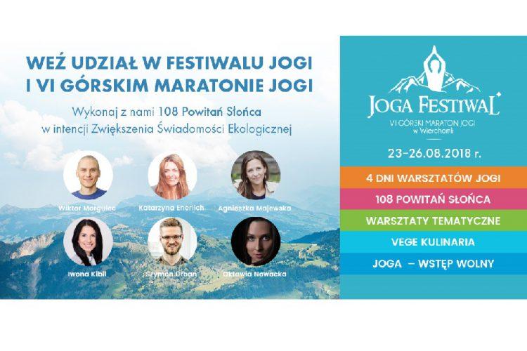 Joga Festiwal i VI Górski Maraton Jogi