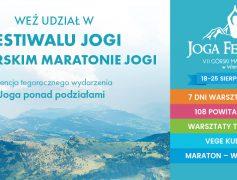 Joga Festiwal 7 dni! VII Górski Maraton Jogi w Wierchomli