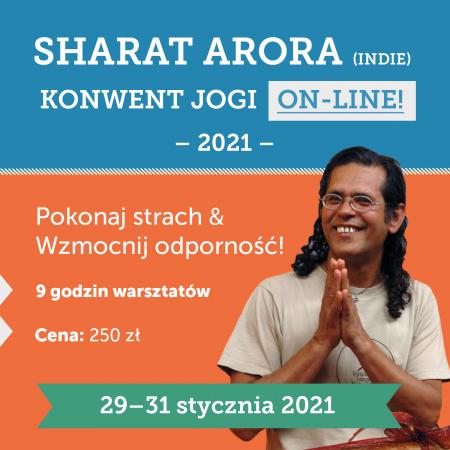 Sharat Arora Indie – Międzynarodowy Konwent Jogi 29-31.01 2021 :: ON – LINE!