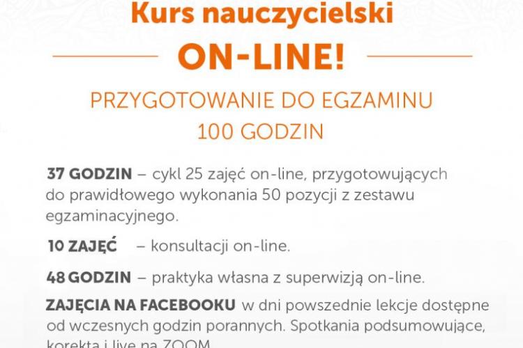 KURS NAUCZYCIELSKI JOGI ON-LINE – PRZYGOTOWANIE DO EGZAMINU 25.01-26.02.2021