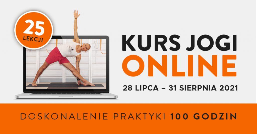 Kurs jogi ON-LINE 25 lekcji Wiktor Morgulec- doskonalenie praktyki