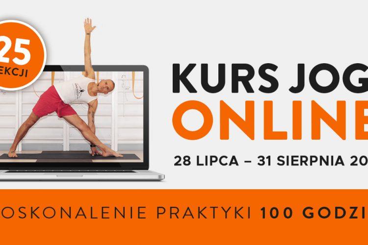 Kurs jogi ON-LINE 25 lekcji Wiktor Morgulec- doskonalenie praktyki 28.07-31.08.2021