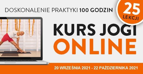 Kurs jogi ON-LINE 25 lekcji Wiktor Morgulec- doskonalenie praktyki 20.09-22.10.2021