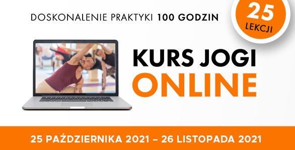 Kurs jogi ON-LINE 25 lekcji Wiktor Morgulec- doskonalenie praktyki 25.10-26.11.2021