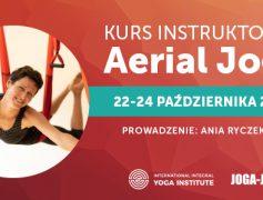 Kurs Instruktorski Aerial Jogi 22-24 października 2021