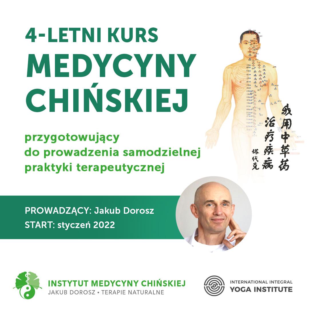 4 letni kurs Medycyny Chińskiej przygotowujący do prowadzenia samodzielnej praktyki terapeutycznej.